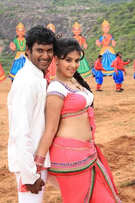 Madha gaja raja latest movie stills