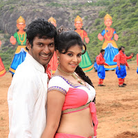 Madha gaja raja latest movie stills