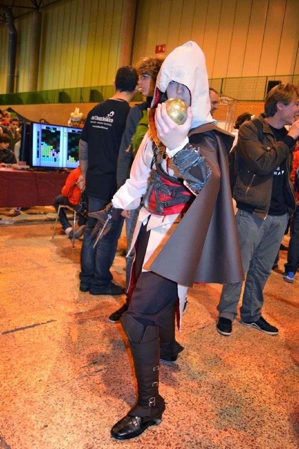 Cosplay de Assassin´s Creed en Mangafest 2013