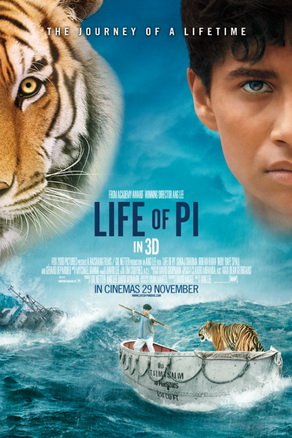 life of pi movie review The film works well but could do with a shorter running time | review:  rohit  khilnani feels life of pi works well visually but is a bit too long.
