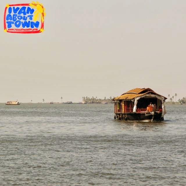 Houseboat in Alleppey, Kerala, India
