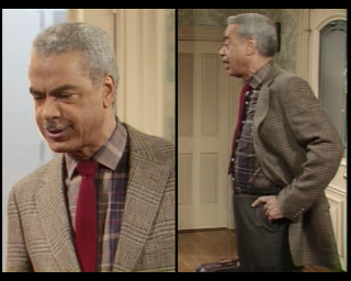 Cosby Show Huxtable fashion blog 80s sitcom Russell Earle Hyman