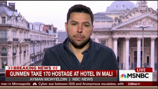 http://www.newsbusters.org/blogs/nb/mark-finkelstein/2015/11/20/mohyeldin-important-emphasize-we-dont-know-identity-mali-gunmen