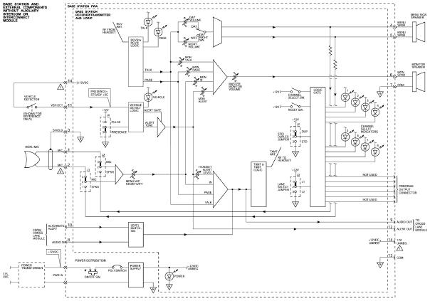 wiring schematic diagram 3m wireless intercom system