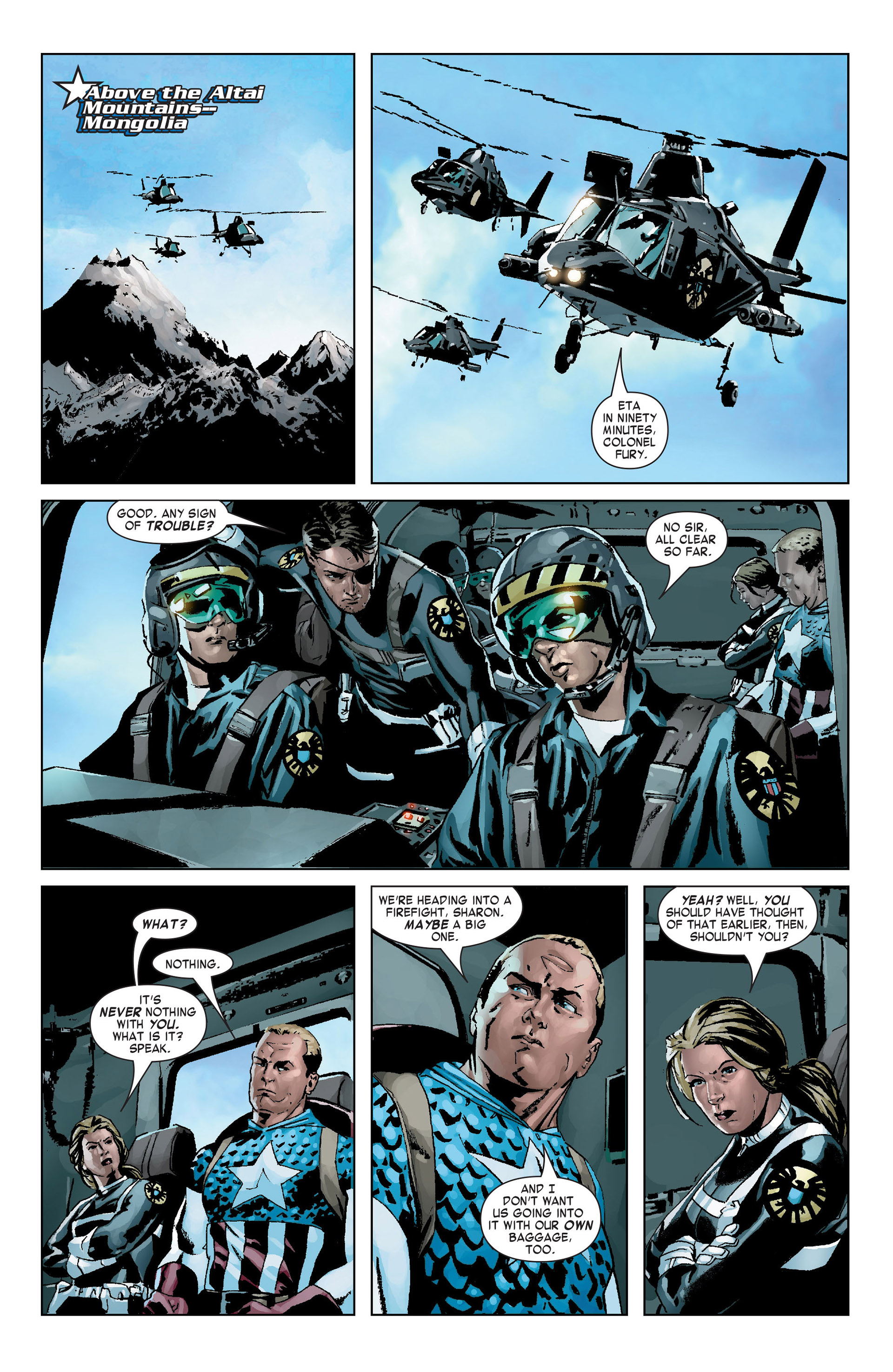 Captain America (2005) Issue #9 #9 - English 5