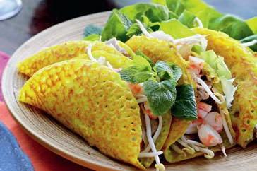 Vietnamese Crepe Dish Recipe ( Banh Xeo )