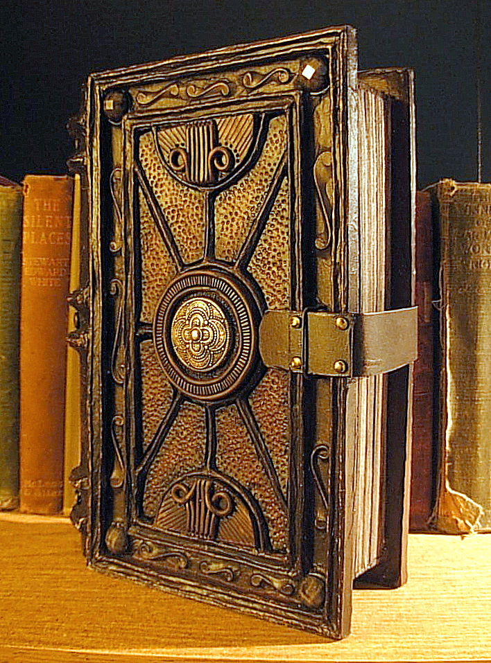 Diy Vintage Book Cover ~ Propnomicon the tome