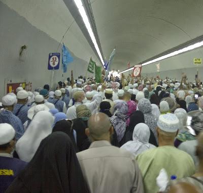 Pemerintah Arab Sediakan 2 Terowongan untuk Pelempar Jumroh