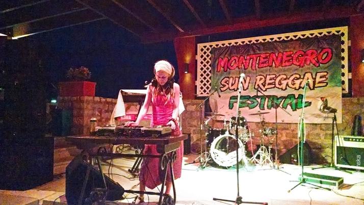 DJ на фестивале «Montenegro Sun»