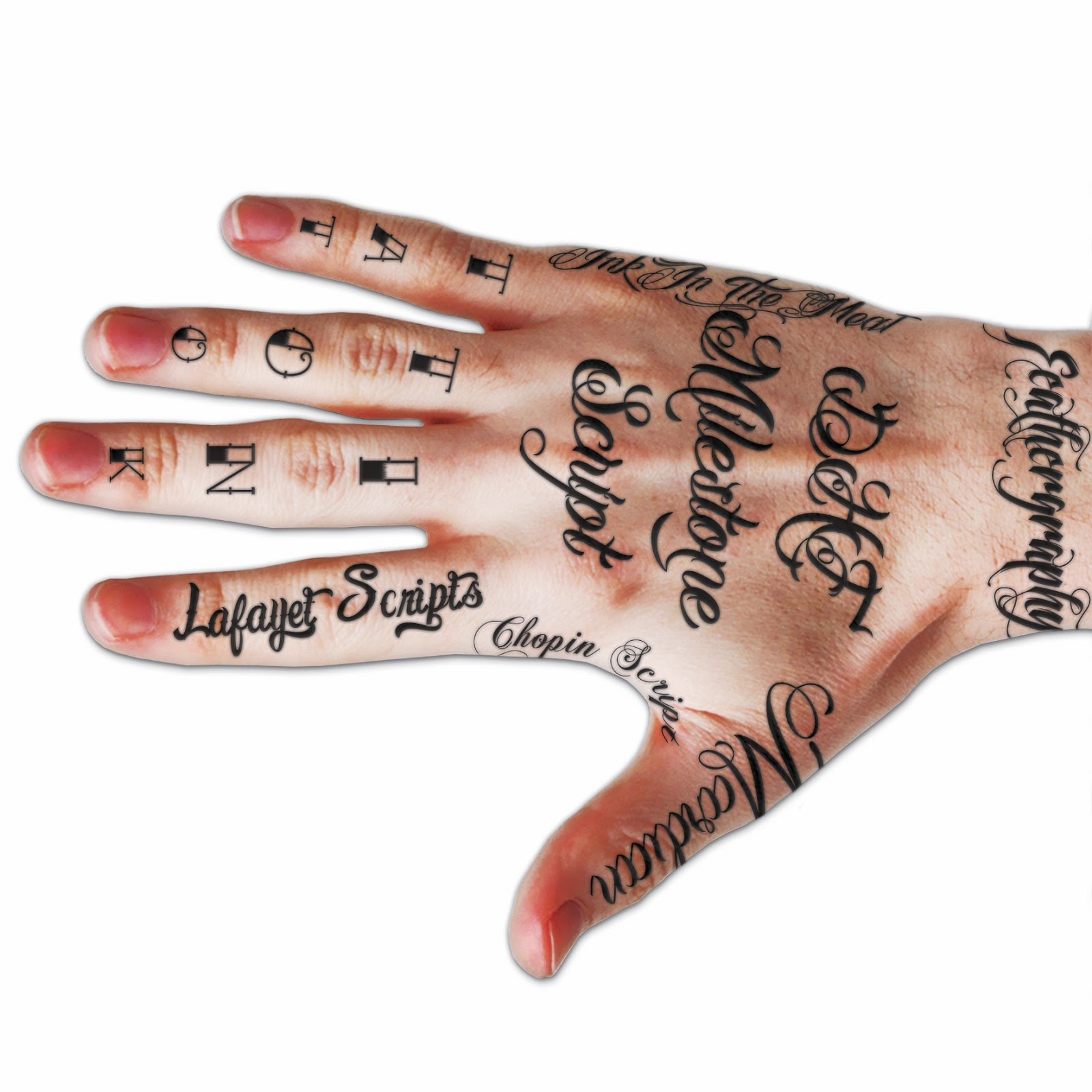 Tattoo Design Gallery 360 Free Tattoo Fonts