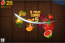 Fruit Ninja HD Full Version Portable Free Download Single Link