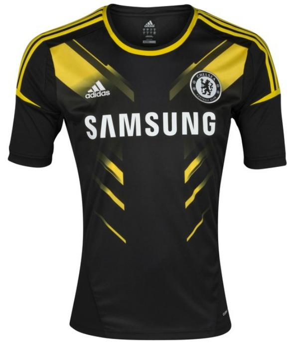 Tercera Equipaci  N   Uniforme   Indumentaria   Camiseta Chelsea 2012