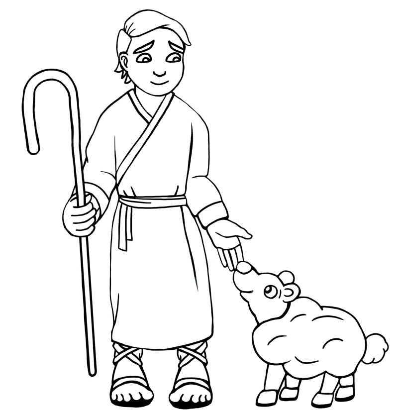 LDSFiles Clipart Shepherd Boy