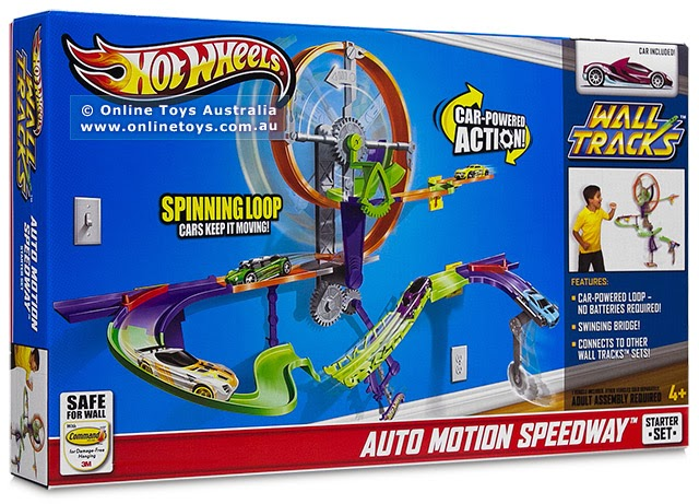 Identical Daddy Review Hot Wheels Wall Track System
