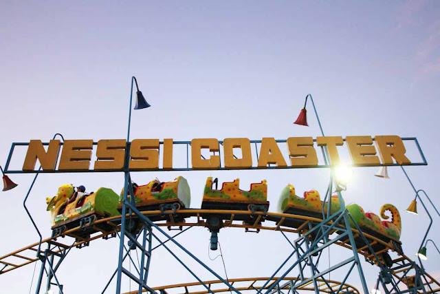 Nessi Coaster at Sky Fun Amusement Park at Sky Ranch Tagaytay