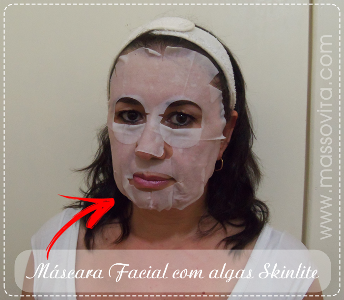 Máscara Facial de Algas
