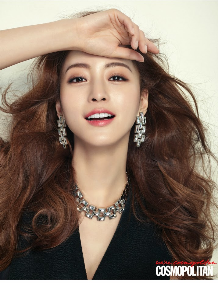 Han Ye Seul - Cosmopolitan Magazine December Issue 2014