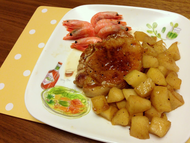 apple pork chop