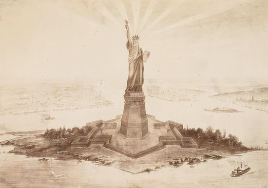Así se construyó la Estatua de la Libertad