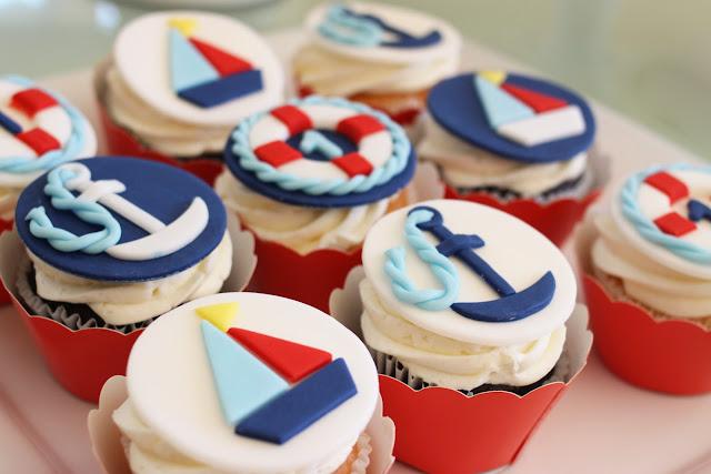 The Larson Lingo Lukes Nautical 1st Birthday Party