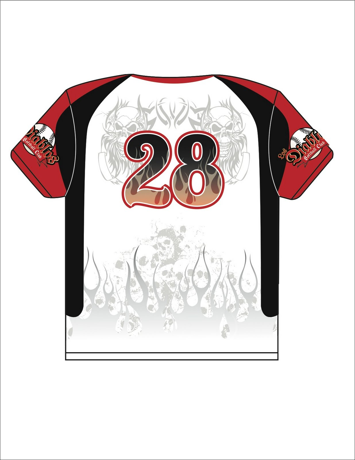 Softball jersey design template alex herrera graphic for Softball uniform design templates