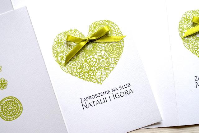 zaproszenie ślubne Amaltea