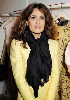 Foto Salma Hayek Model Rambut Artis 2014