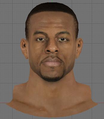 NBA 2K14 Andre Iguodala Face Next-Gen Mod