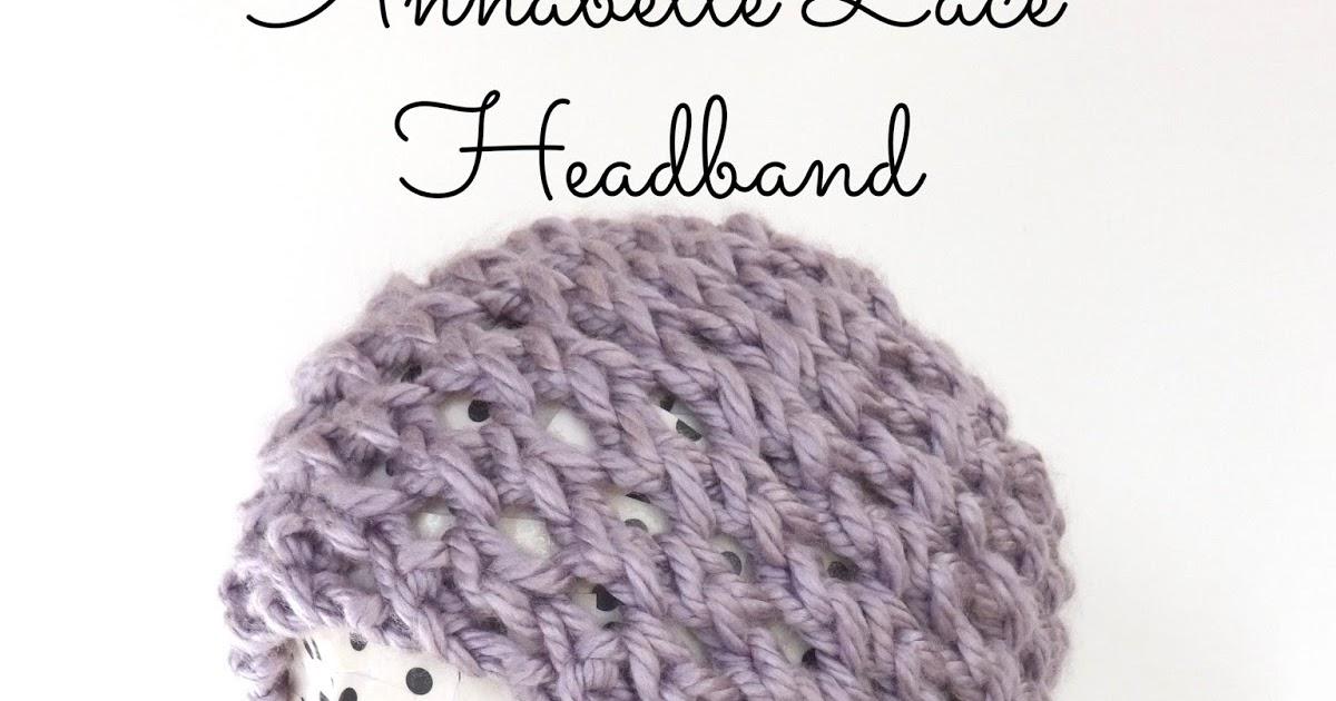 Lace Headband Knitting Pattern Free : Fiber Flux: Free Knitting Pattern: Annabelle Lace Headband!