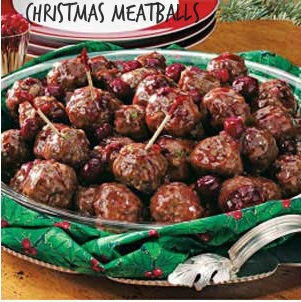 Nick's Christmas Meatballs | 100 Ways To Prepare Hamburger ...