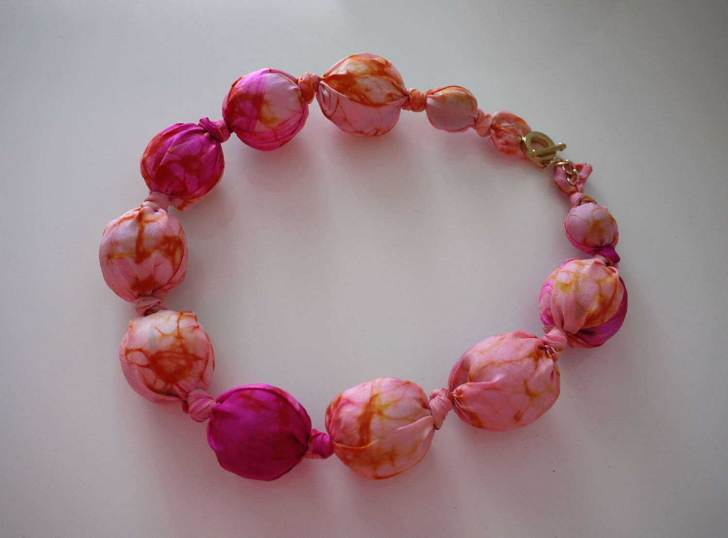 Category - Beautiful: Silk Bead Necklace