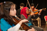 Stockwell Children's Orchestra, (picture credit Reynaldo Trombetta)