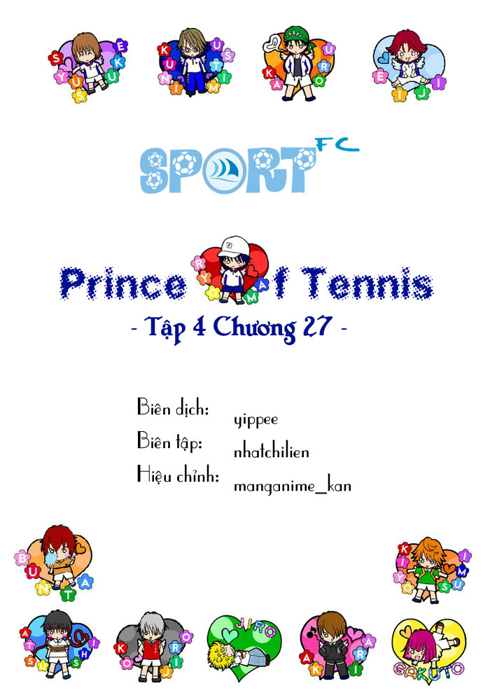 Prince of Tennis chap 27 Trang 1