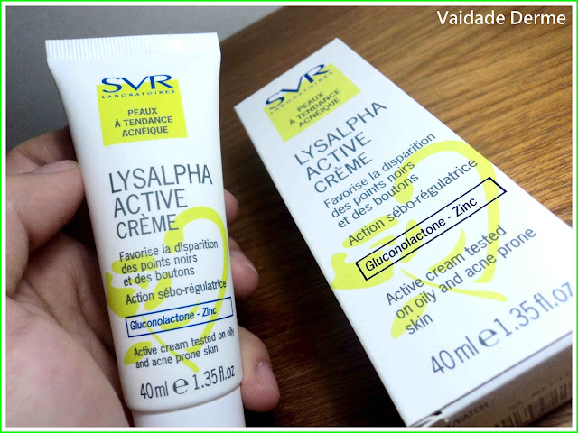 Lysalpha Active Creme Anti Acne da SVR
