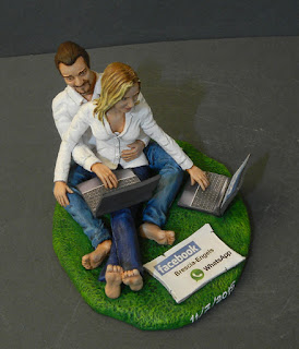 cake topper milano lombardia sposini social skype facebook orme magiche