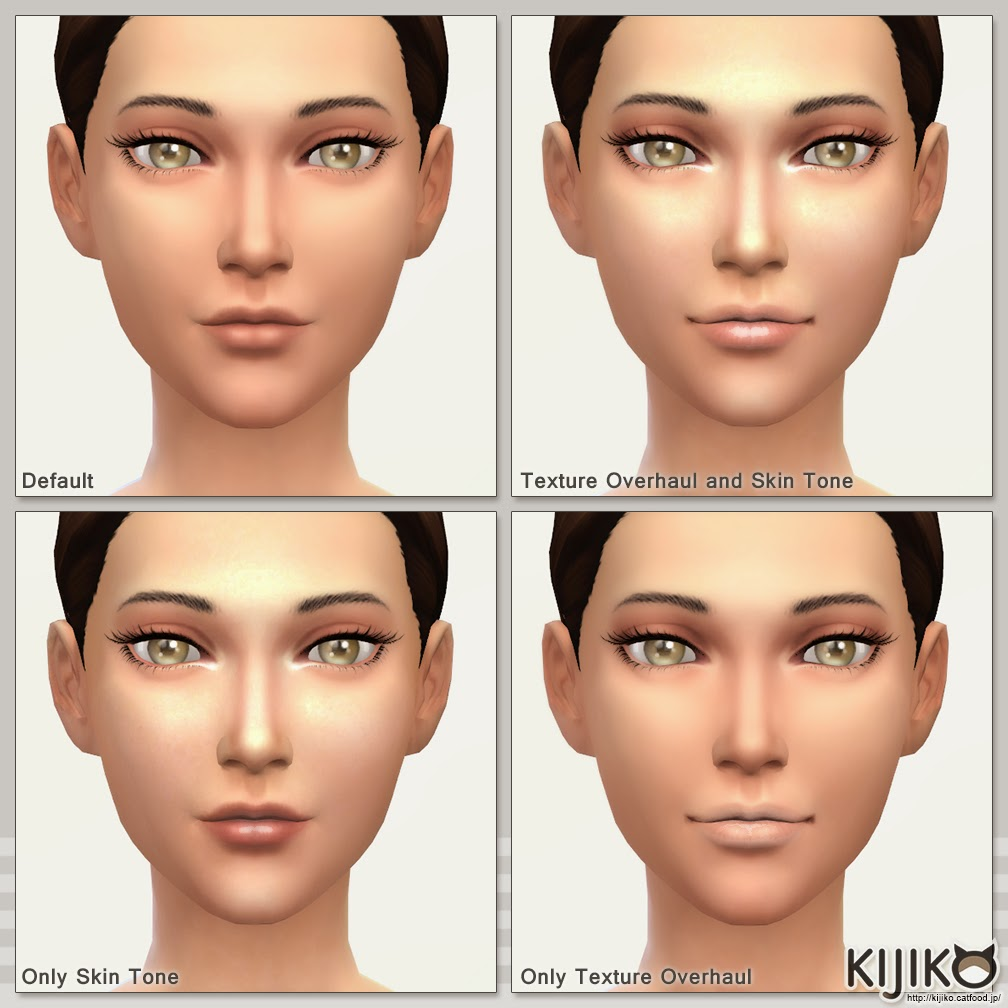 My Sims 4 Blog: Eyebrow Texture Overhaul by Kijiko