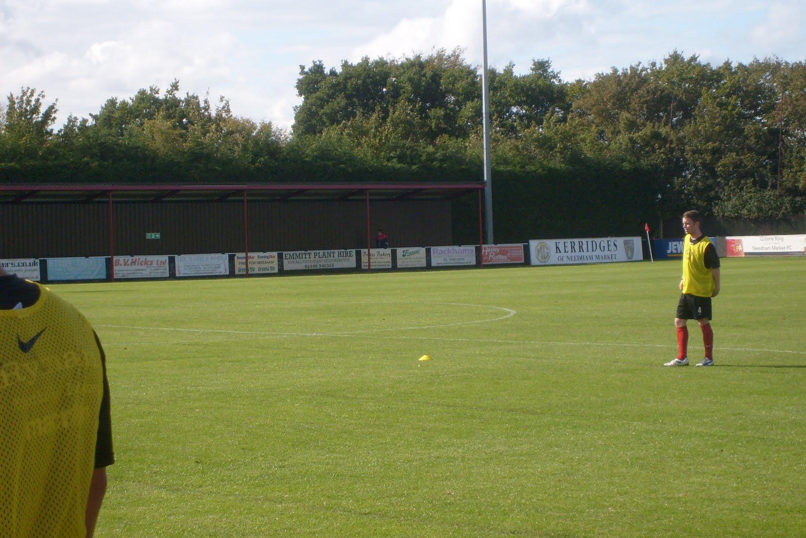 Football rambles needham market fc terrace for 4 holland terrace needham ma