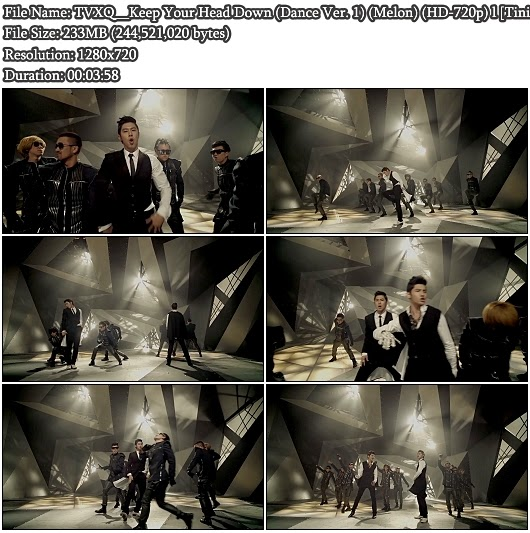 Download MV TVXQ - Why (Keep Your Head Down) (Dance Ver. 1) (Melon HD 720p)
