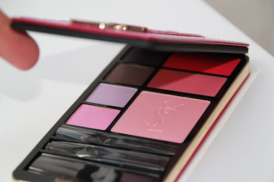 ysl yves saint laurent very yves saint laurent make-up palette duty free test avis essai blog
