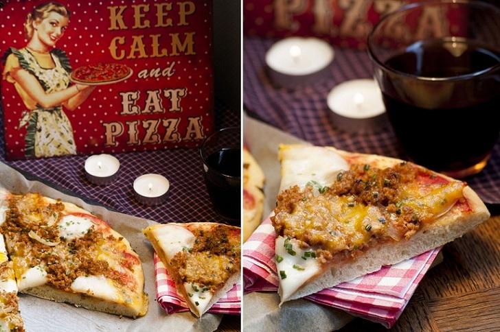 Pâte à pizza, pizza maison, recette pizza, base pizza, pizza italienne