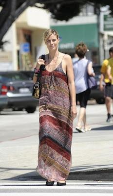 Heidi Klum Maxi Dress