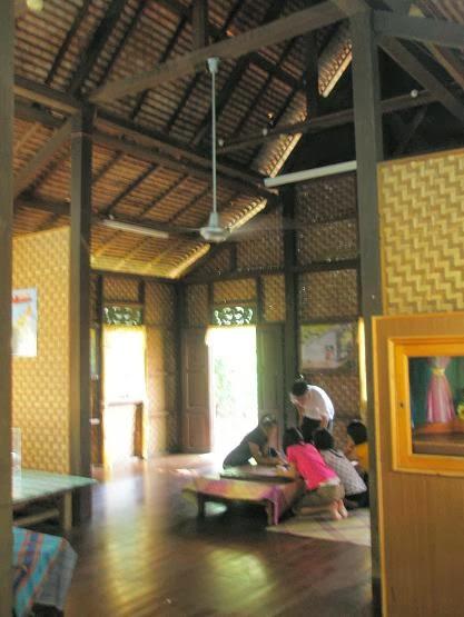 Mengenai Rumah Tradisi Perlis Pelan dan Gambar, DAPUR RUMAH PERLIS