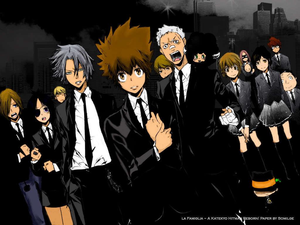 Hitman Reborn Anime