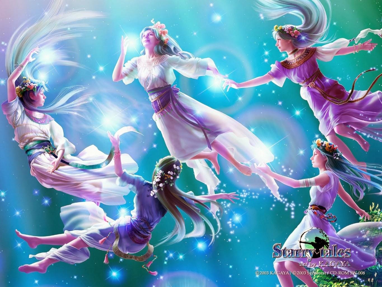 Kagaya Yutaka • Fondo de Pantalla • Danza de hadas