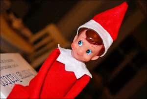 The Christmas Elf On The Shelf
