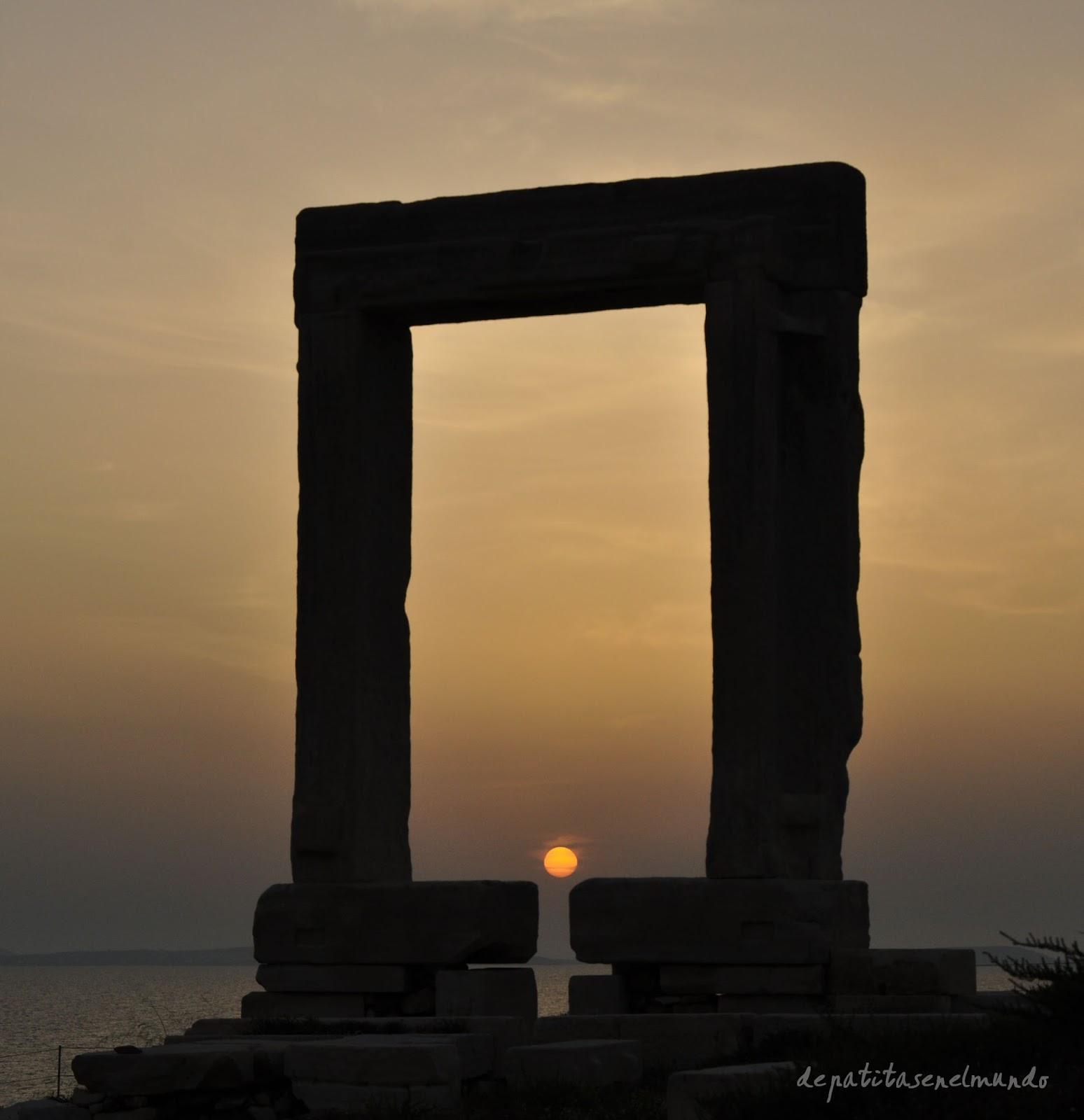 Portára en Naxos