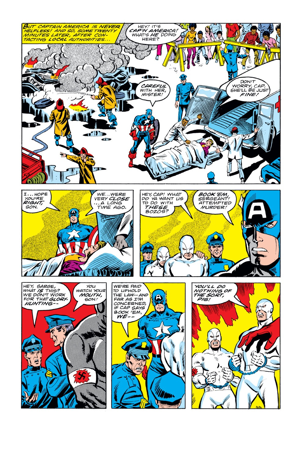 Captain America (1968) Issue #232 #147 - English 5