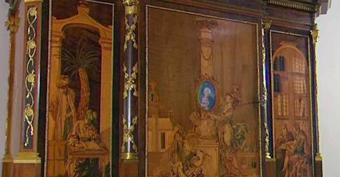 This Cabinet Is Over 200 Years Old. You Have To See What It Can Do When They Start Opening Its Drawers