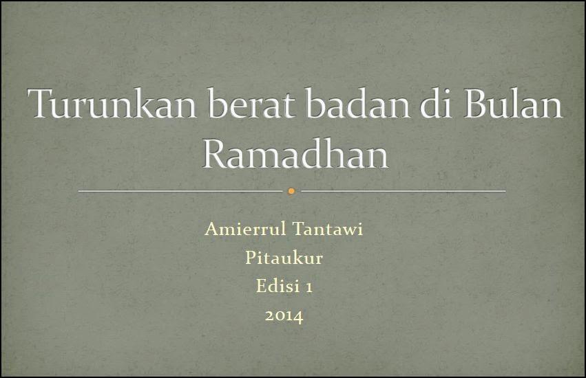 E book PERCUMA Pitaukur Gagal Turunkan Berat di Bulan Ramadhan