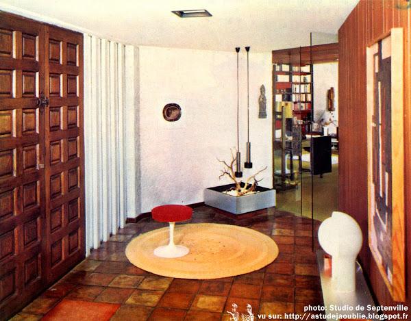 Mulhouse - Maison de Yves Ruhlmann  Architecte et décorateur: Yves Ruhlmann  Construction: